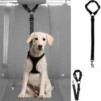 Adjustable Pet Seat Belt Dog Harness Pet Car Seat Belt Pet Safety Leash Leads