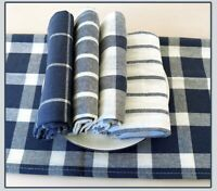 Set of 10 Kitchen Dish Cloth 100% Natural Cotton Super Absorbent Hand Tea Towels