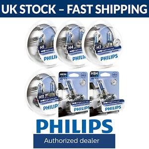 Philips Crystal Vision Car Bulbs - H1 H4 H7 H11 HB3 & HB4 Fittings