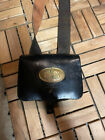 civil war reenacting leather cartridge box CS buckle and breastplate