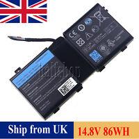 NEW 2F8K3 Battery For Dell Alienware 17 18 17x 18x 0G33TT 0KJ2PX 86WH 86Wh