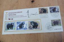 F90 Commemorative envelope 2004 endangered species stamps Limited Edition Bears