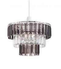 Modern 3 piani non elettrici Acrilico Cristallo Plafoniera Paralume per lampadario