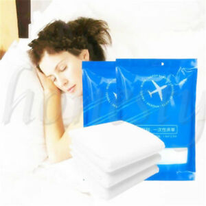 Big Size Non-woven Disposable Travel Bed Sheets Pillowcases Cases Hotels