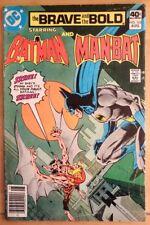 The BRAVE and the BOLD #165 BATMAN MANBAT (1980 DC Comics) ~ GD Book