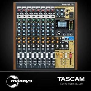 Tascam Model 12 Multitrack Recorder w/ Integrated USB Audio Interface & Analog M