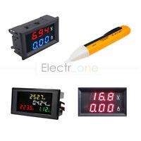 100A AC 80-300V/200-450V LCD Voltmeter Ammeter Volt Amp Power Kwh Panel Meter