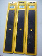 3 x Lawn Edger Blade 25cmx4cm STAR Kamodo 2.5hp 4hp Yardstar Domestic