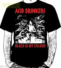 = t-shirt ACID DRINKERS - BLACK IS MY COLOUR   size XL koszulka [ official ]
