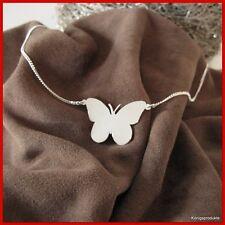 Halskette Schmetterling Anhänger in 925er Silber, Butterfly, NEU