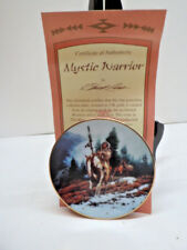 Hamilton Mini Plate Mystic Warrior Indian in the Mountains