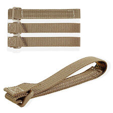 "Maxpedition 5"" Khaki TacTie Straps Pack Of Four 9905K"