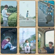 "2018 Pop BTS ""LOVE YOURSELF"" Exquisite Crystal Card Sticker 10PCS BOYS RAP"