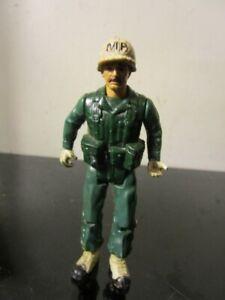 """Vintage 1981 Remco DC Comics SGT. ROCK """"MP"""" Action Figure ~"""