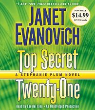 Janet Evanovich TOP SECRET TWENTY-ONE (Stephanie Plum) Unabridged CD *NEW*