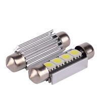 41mm LED Car Festoon Canbus 264 270 White Number Plate Light Bulbs Lamps 12v