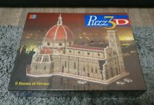 MB Puzz 3D II Duomo di Firenze 802 Piece Jigsaw Puzzle Brand New And Sealed Rare