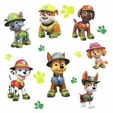 PAW PATROL JUNGLE GiAnT Wall Decals Dogs Puppy Room Decor Stickers CHASE RUBBLE