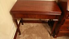 A VERY FINE QUALITY GEORGE II MAHOGANY GAMES TABLE / CHESS BACKGAMMON CIRCA 1750