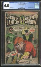 DC Green Lantern #85 (1971) * Speedy Junky Anti-Drug Story * Adams * CGC 4.0 *