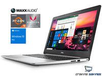 """Dell 15.6"""" FHD Laptop, Ryzen 5 2500U 2.0GHz, 16GB DDR4, 128GB SSD, W10P"""