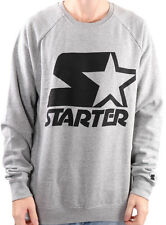 STARTER - 1992 Crew Neck Sweat/Jumper Grey Marle/Black - NEW - MEDIUM ONLY