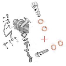 Vis banjos + joints tuyau alimentation huile turbo 1,6 hdi 037660 037655 015708