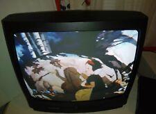 "Magnavox MT1905B301 19"" CRT Tv/ Retro Gaming Television with remote no AV Input"