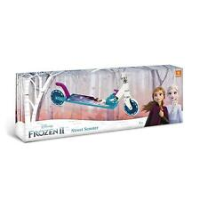 Disney Frozen II Street Scooter-Monopattino Alluminio Pieghevole 🛴MONDO🧸