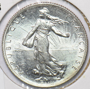 France 1918 2 Francs 293744 combine shipping