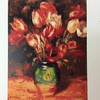 Renoir's Tulips 000-088 Jamie Larson White Willow Stitching Cross Stitch Pattern