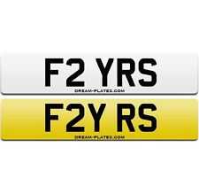 FLY RS number plate for Escort Fiesta Focus RS Turbo Sierra Cosworth Audi RS4