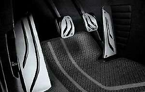 BMW Genuine M Performance Stainless Steel Pedals Pads Covers Set