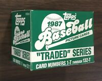1987 TOPPS TRADED Baseball Factory UNOPENED Set out of case MADDUX RC H8020514