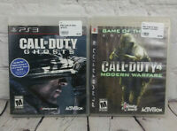 Call of Duty 4 Modern Warfare & Black Ops (Sony PlayStation 3) PS3 Video Games