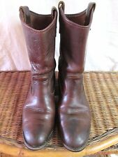 "DOUBLE H 12"" A67 RANCHWELL ROPER BOOT AEROGLIDE 7 SOLE MEN 9 D    QUICK SHIPPER"