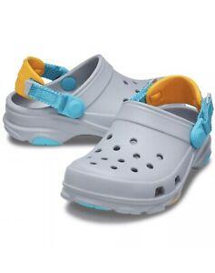 NEW Kids' Crocs Kids' Classic All-Terrain Clog Item SIZE C11 Light Grey