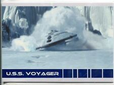 Star Trek Voyager Quotable USS Voyager Chase Card V8