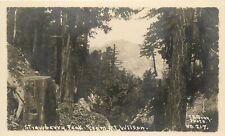 E.B. Gray RPPC Postcard 217; Strawberry Peak from Mt. Wilson CA San Gabriel Mts.