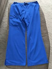 women's scrubs pants blue Jockey Size L 30� Inseam Clean Great Condition