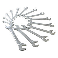 Sunex 9914 14 Pc. SAE Fully Polished Angle Head Wrench Set Drop Forged Steel