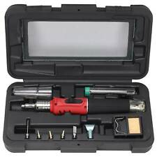 Auto Ignition Soldering Iron Kit Professional Gas Butane Torch With Plastic Case