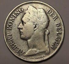 1 Franc Frank 1921 <<==>> 1927 Congo Belge Belgisch Congo Belgium Colony