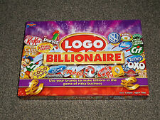 LOGO BILLIONAIRE GAME : From THE LOGO GAME  FAMILY  - In VGC (FREE UK P&P)