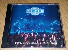 "TESLA  ""Five Man Acoustical Jam""  NEW  (CD, 1990)"
