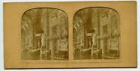 Senat Paris France Hold to light Tissue Vintage Stereoview Photo