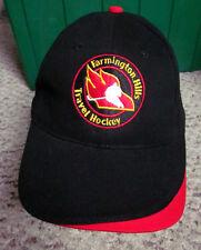 FARMINGTON HILLS DEVILS ice hockey cap Michigan baseball hat midget travel FHHA