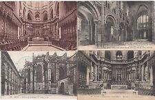Lot 4 cartes postales anciennes AUCH cathédrale 2