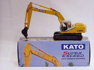 Kato HD820 Excavator - 1/43 - Goodswave - MIB