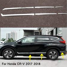 STAINLESS SIDE DOOR BODY MOLDING COVER TRIM 6PCS FOR HONDA CR-V CRV 2017 2018